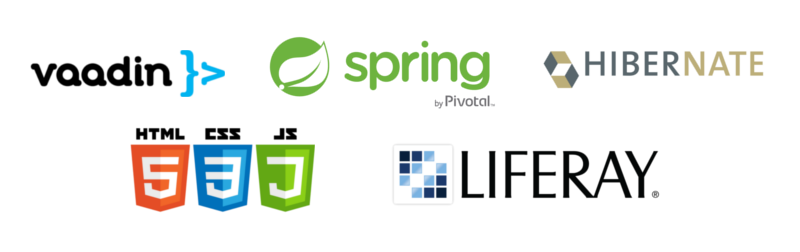 We specialise in Spring Framework, Vaadin, HTML5, Hibernate and Liferay Portal